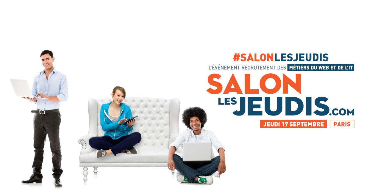 Salons l 39 v nement recrutement des m tiers web it - Salon recrutement ingenieur ...